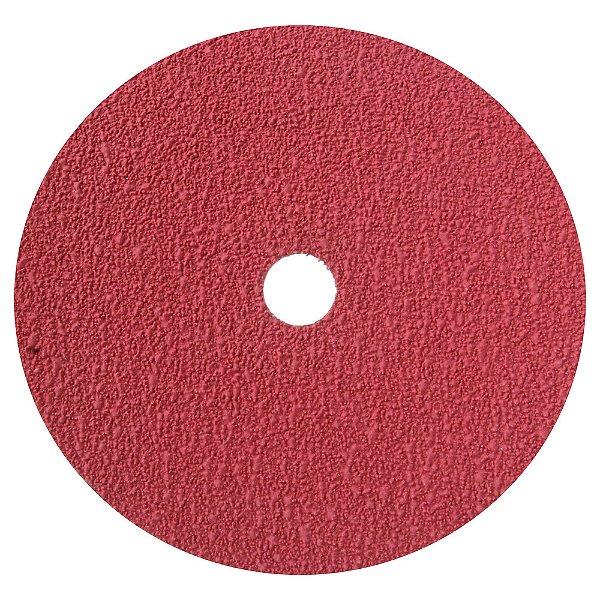 Disco de Lixa Fibra Seeded Gel F944 Grão 36 180 x 22 mm Caixa com 60