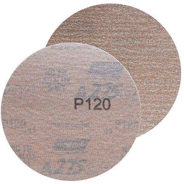 Caixa com 100 Disco de Lixa Pluma A275 Grão 120 127 mm