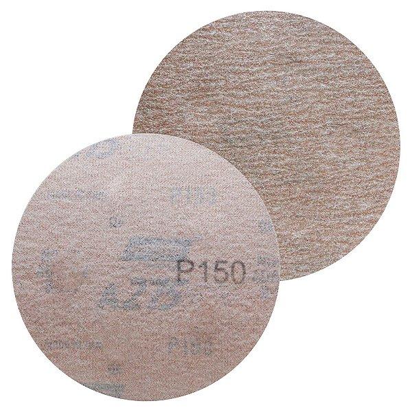 Caixa com 100 Disco de Lixa Pluma A275 Grão 150 127 x 0 x 5 mm