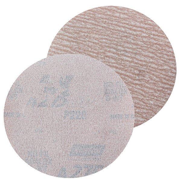 Caixa com 100 Disco de Lixa Pluma A275 Grão 220 127 x 0 x 5 mm