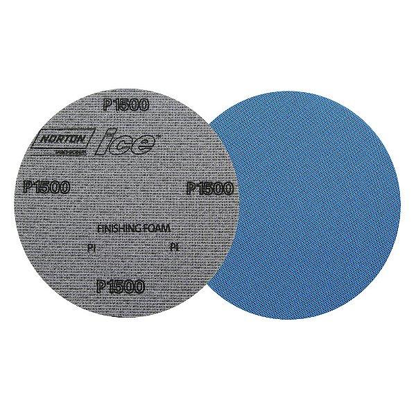 Disco de Lixa Pluma Dry Ice Q255 Grão 1500 152 mm Caixa com 60