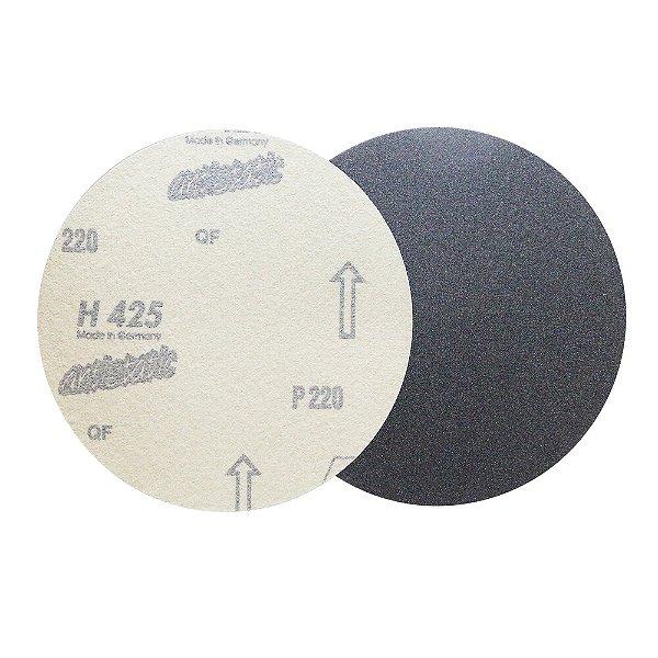 Caixa com 100 Disco de Lixa Pluma Marmore H425 Grão 220 180 mm
