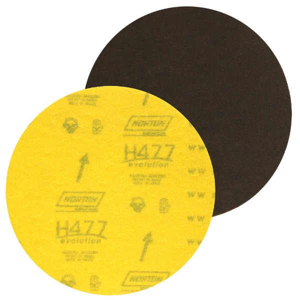 Disco de Lixa Pluma Marmore H477 Grão 1200 180 mm Caixa com 100