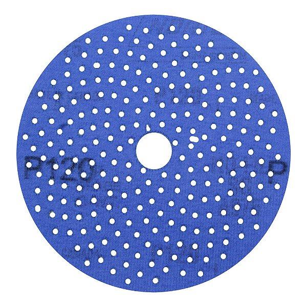 Caixa com 5 Disco de Lixa Pluma Multiair Cyclonic A975 Grão 120 127 x 18 mm
