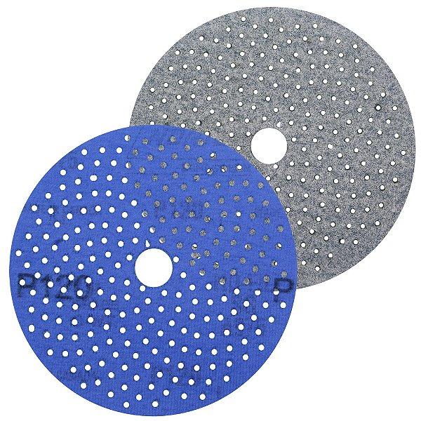 Caixa com 50 Discos de Lixa Pluma Multiair Cyclonic A975 Grão 120 127 x 18 mm