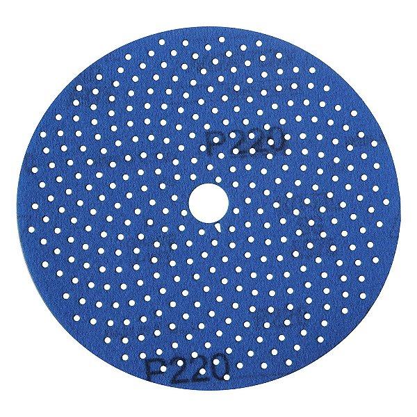 Disco de Lixa Pluma Multiair Cyclonic A975 Grão 220 152 x 18 mm Caixa com 50