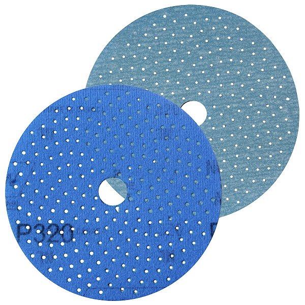 Caixa com 50 Discos de Lixa Pluma Multiair Cyclonic A975 Grão 320 127 x 18 mm