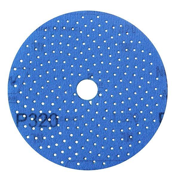 Caixa com 5 Disco de Lixa Pluma Multiair Cyclonic A975 Grão 320 127 x 18 mm