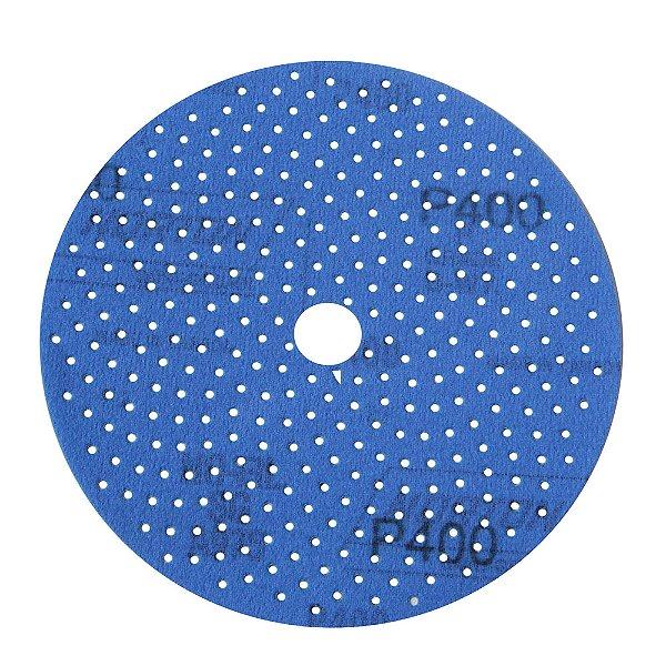 Caixa com 5 Disco de Lixa Pluma Multiair Cyclonic A975 Grão 400 152 x 18 mm