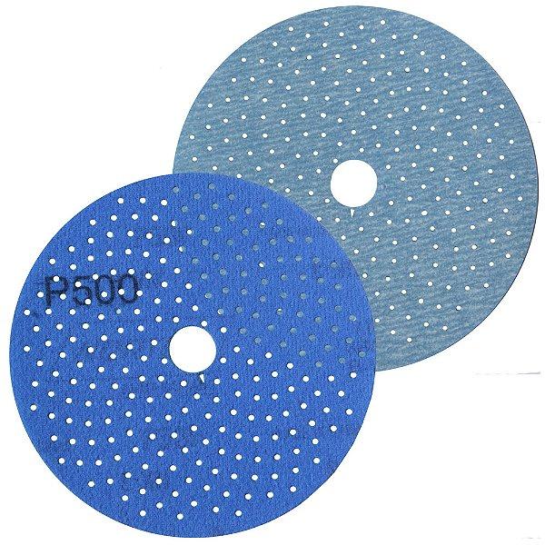 Caixa com 50 Discos de Lixa Pluma Multiair Cyclonic A975 Grão 500 127 x 18 mm