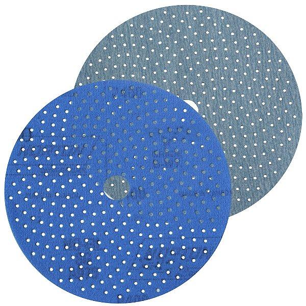 Caixa com 50 Discos de Lixa Pluma Multiair Cyclonic A975 Grão 500 152 x 18 mm