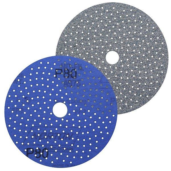 Caixa com 50 Discos de Lixa Pluma Multiair Cyclonic A975 Grão 80 127 x 18 mm