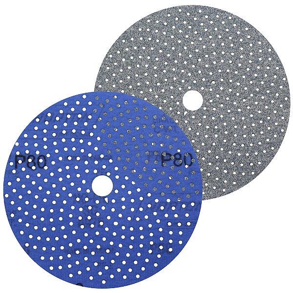 Caixa com 50 Discos de Lixa Pluma Multiair Cyclonic A975 Grão 80 152 x 18 mm