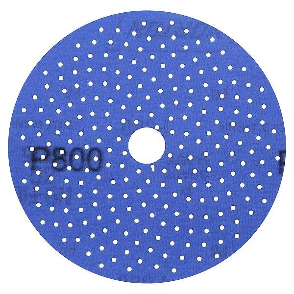 Disco de Lixa Pluma Multiair Cyclonic A975 Grão 800 127 x 18 mm Caixa com 50