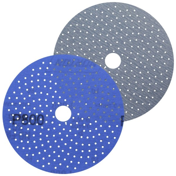 Caixa com 50 Discos de Lixa Pluma Multiair Cyclonic A975 Grão 800 127 x 18 mm