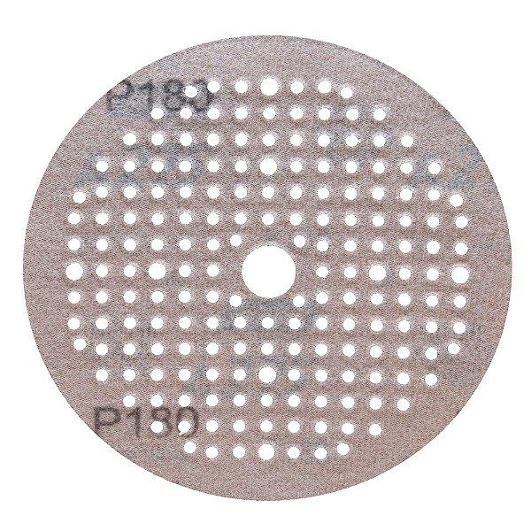 Disco de Lixa Pluma Multiair NorGrip A275 Grão 180 150 x 18 x 180 mm Caixa com 100