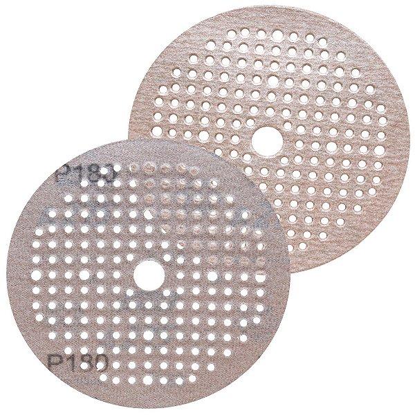 Caixa com 100 Disco de Lixa Pluma Multiair NorGrip A275 Grão 180 150 x 18 x 180 mm