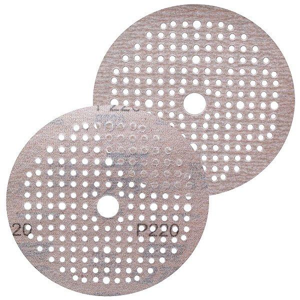 Caixa com 100 Disco de Lixa Pluma Multiair NorGrip A275 Grão 220 150 x 18 x 180 mm