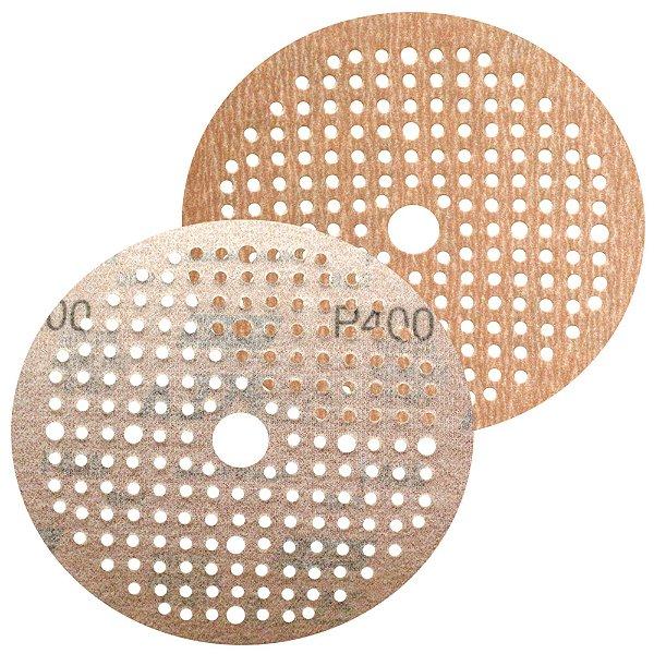Disco de Lixa Pluma Multiair NorGrip A275 Grão 400 150 x 18 x 180 mm Caixa com 100
