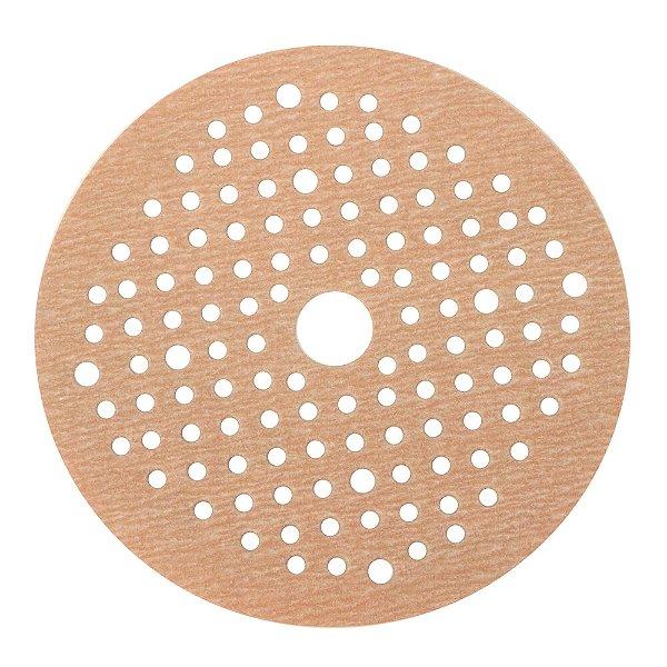 Caixa com 100 Disco de Lixa Pluma Multiair NorGrip A275 Grão 500 125 x 18 x 123 mm