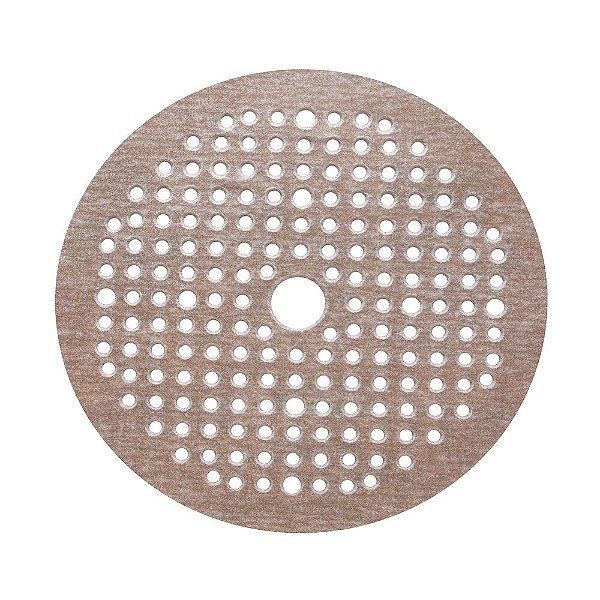 Caixa com 100 Disco de Lixa Pluma Multiair NorGrip A275 Grão 80 125 x 18 x 123 mm