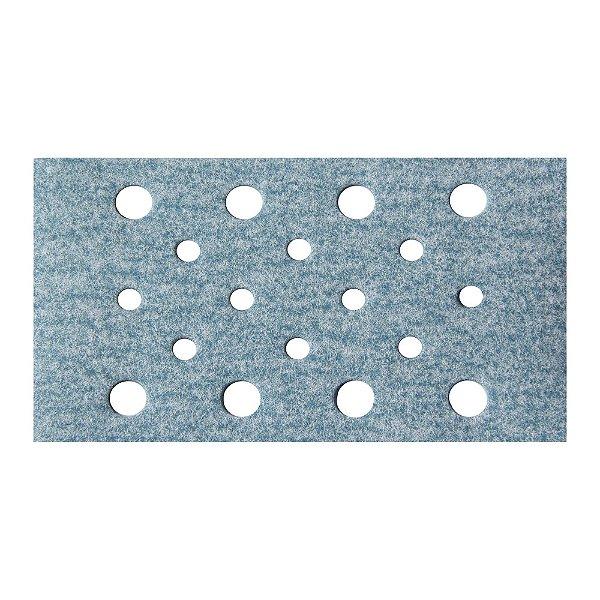 Caixa com 50 Discos de Lixa Pluma Multiair Plus NorGrip A975 Grão 150 70 x 125 mm