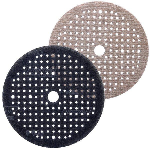 Caixa com 80 Disco de Lixa Pluma Multiair Soft-Touch A275 Grão 500 150 x 18 x 180 mm