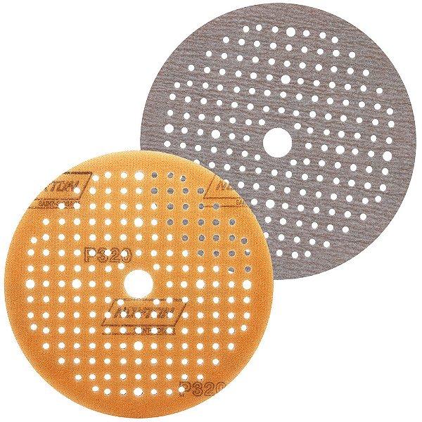 Caixa com 80 Disco de Lixa Pluma Multiair Soft-TouchA275 Grão 320 150 x 18 x 180 mm