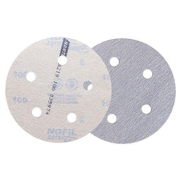 Caixa com 100 Disco de Lixa Pluma Speed-Grip A219 Grão 100 127 x 0 x 5 mm