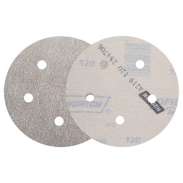Caixa com 100 Disco de Lixa Pluma Speed-Grip A219 Grão 150 127 x 0 x 5 mm