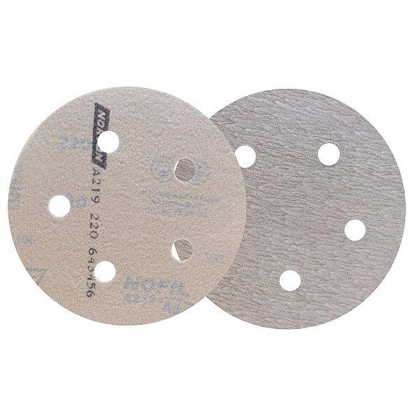 Caixa com 100 Disco de Lixa Pluma Speed-Grip A219 Grão 220 127 x 0 x 5 mm