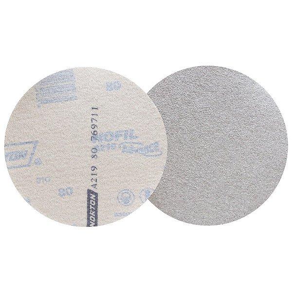 Caixa com 100 Disco de Lixa Pluma Speed-Grip A219 Grão 80 127 mm