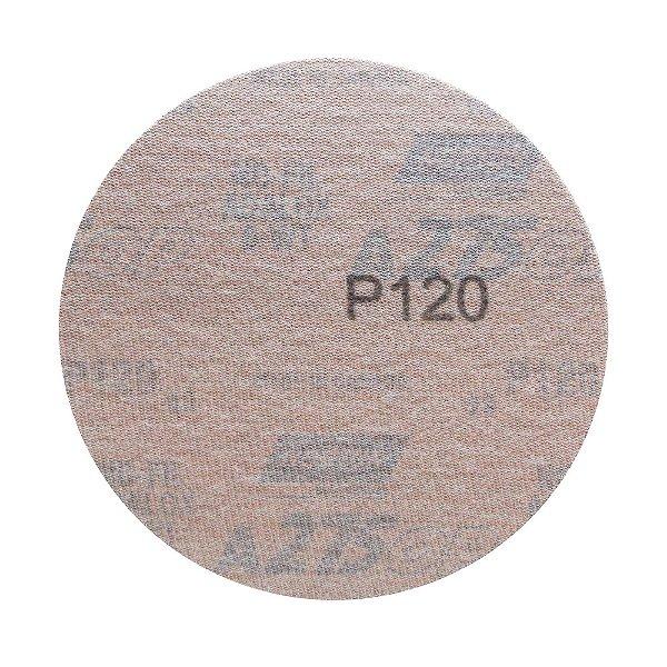 Disco de Lixa Pluma Speed-Grip A275 Grão 120 152 mm Caixa com 100