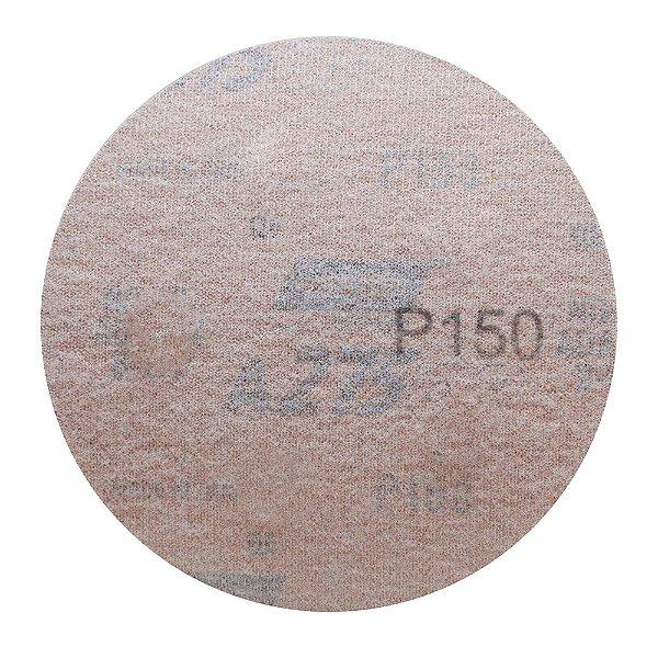 Disco de Lixa Pluma Speed-Grip A275 Grão 150 127 mm Caixa com 100