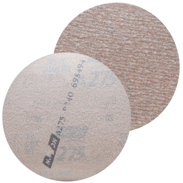 Disco de Lixa Pluma Speed-Grip A275 Grão 240 127 mm Caixa com 100