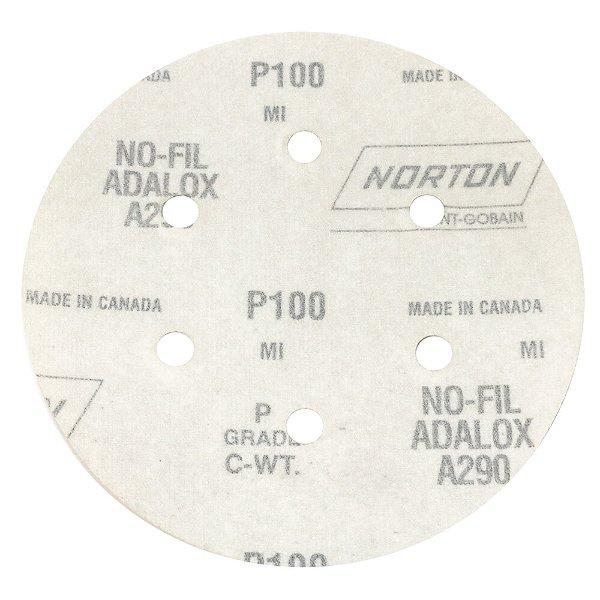 Disco de Lixa Pluma Speed-Grip A290 com 6 Furos Grão 100 152 x 0 x 6 mm Caixa com 100