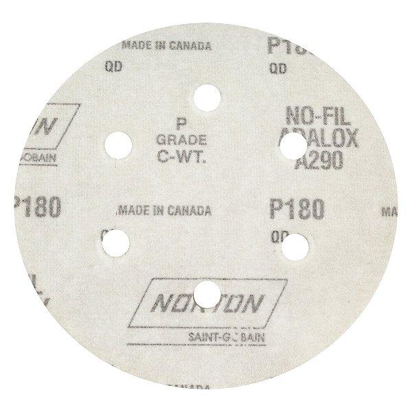 Disco de Lixa Pluma Speed-Grip A290 com 6 Furos Grão 180 152 x 0 x 6 mm Caixa com 100