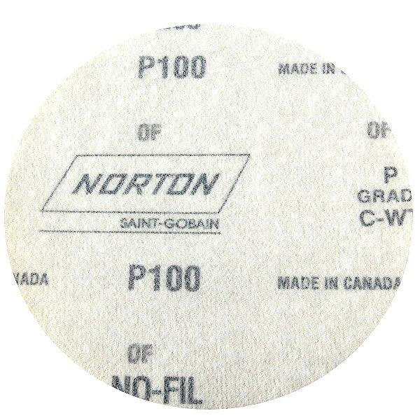 Disco de Lixa Pluma Speed-Grip A290 Grão 100 127 mm Caixa com 100