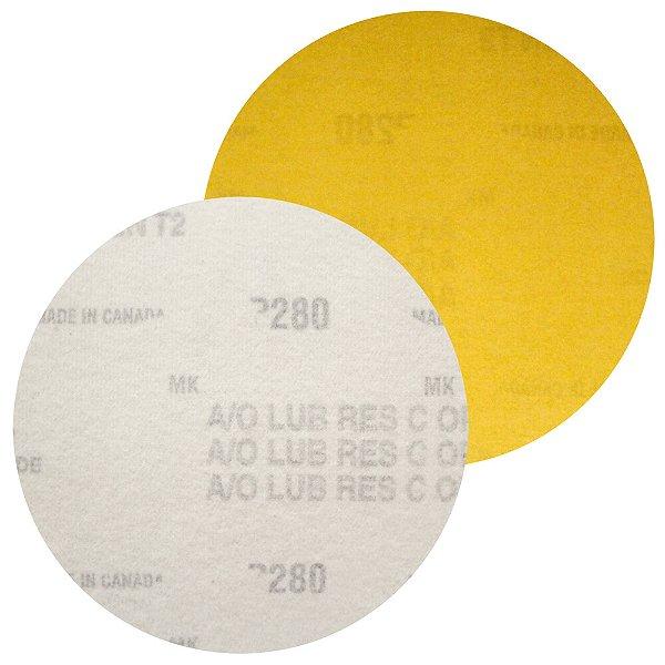 Caixa com 100 Disco de Lixa Pluma Speed-Grip A290 Grão 280 127 mm