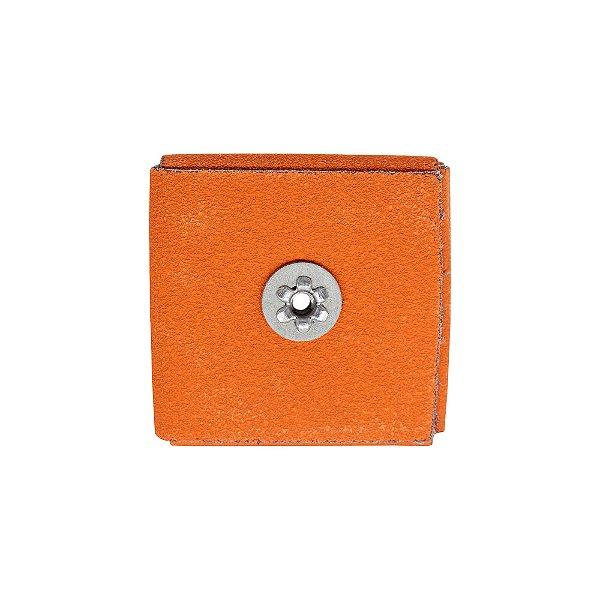 Pacote com 20 Disco de Lixa Quadrado R920 Grão 80 76 x 76 x 12,7 mm