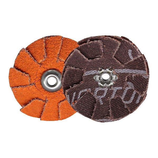 Pacote com 20 Disco de Lixa Sobreposta R920 Grão 60 38 mm