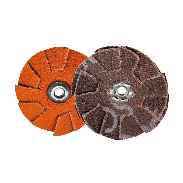 Pacote com 20 Disco de Lixa Sobreposta R920 Grão 80 38 mm
