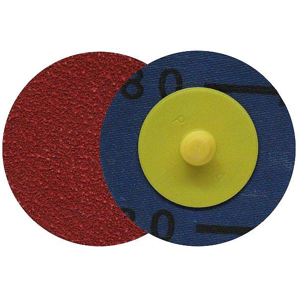 Caixa com 30 Disco de Lixa Speed Lok Troca Rápida R921 Grão 80 76 mm