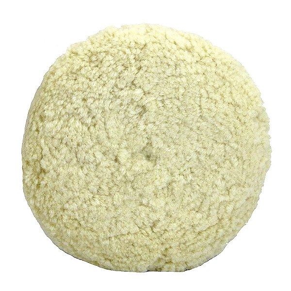 Caixa com 6 Disco de Polimento Dupla Face com Fio de Lã Macia 203 mm