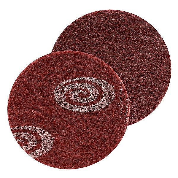 Caixa com 30 Disco SCM Vortex Médio Vermelho 115 x 22 mm