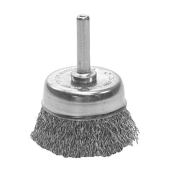 Escova de Aço Copo Ondulada Hobby 65 mm Caixa com 12