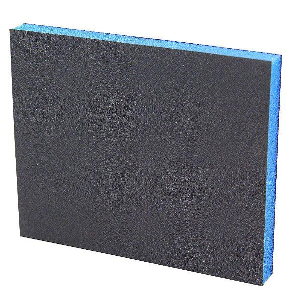 Caixa com 50 Esponja Abrasiva Fina 120 x 98 x 13 mm