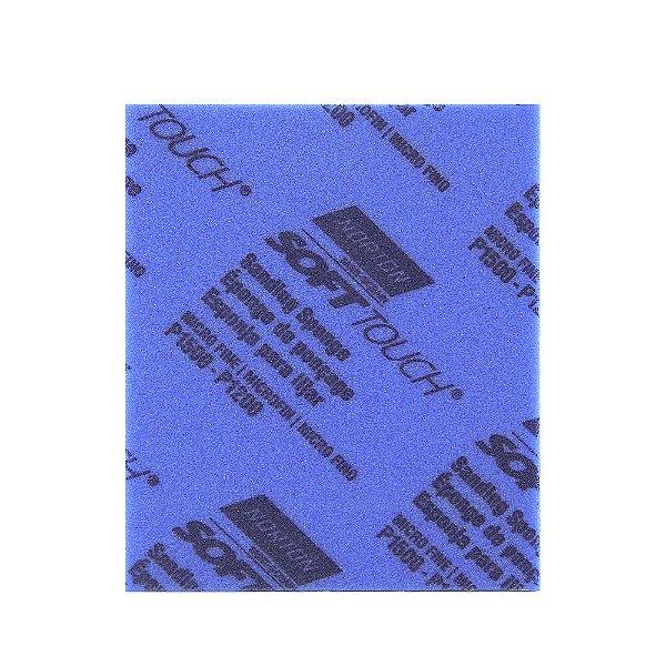 Esponja Abrasiva Grão 1200/1500 120 x 98 x 13 mm Caixa com 80