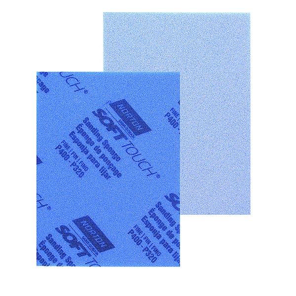 """Caixa com 80 Espuma Abrasiva Nº 2 Grão 320 a 400 - 114 x 139 x 5 mm (4.1/2"""" x 5.1/2"""" x 3/16"""")"""