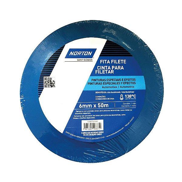 Caixa com 10 Fita PVC Filete Premium 6 x 50 m